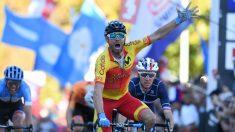 Alejandro Valverde, campeón del mundo. (AFP)