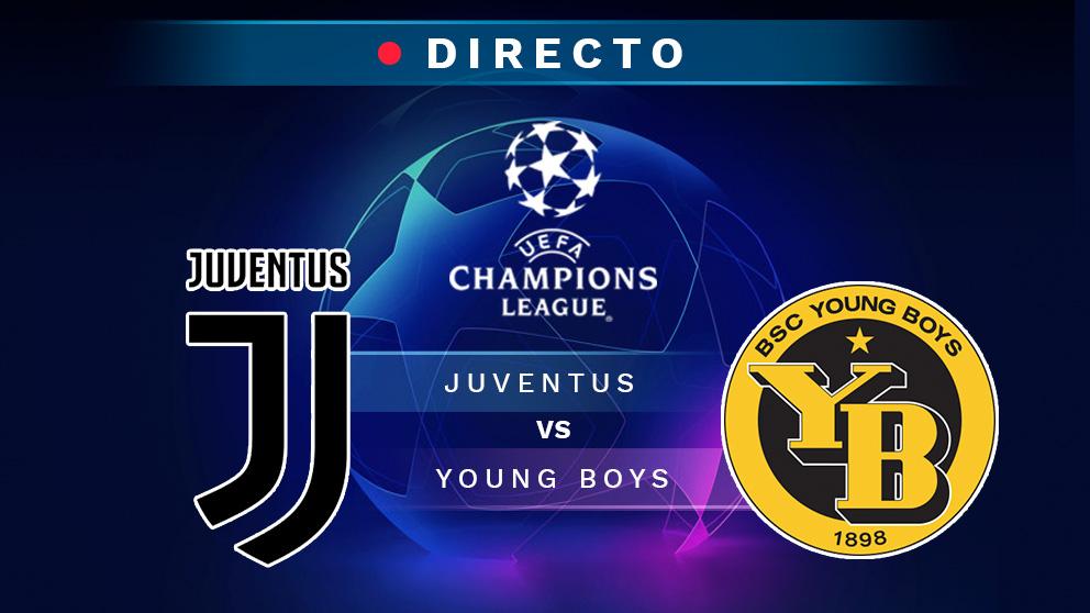 Directo Juventus Young Boys Champions League Partido De La En