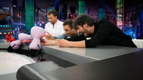 Daniel Guzman y Antonio Pagudo en 'El Hormiguero'.