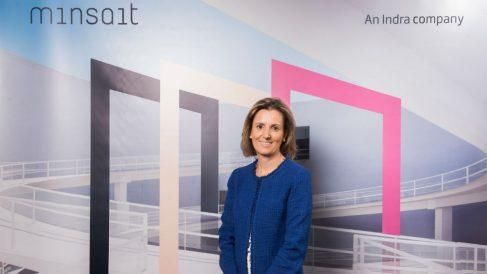 Cristina Ruiz, Consejera Directora General del negocio de Transformación Digital y Tecnologías de la Información de Indra (Foto: Indra)