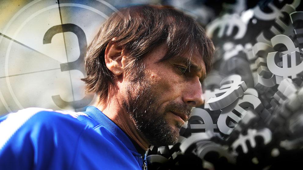 Antonio Conte había establecido unas condiciones inaceptables para el Real Madrid.