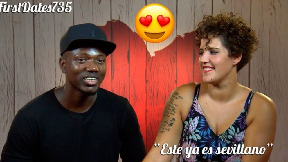 Una pareja se ha ido a bailar sevillanas en 'First Dates'