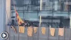 Los CDR ocupan la delegación de la Generalitat en Gerona