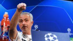 José Mourinho, en rueda de prensa. (AFP)