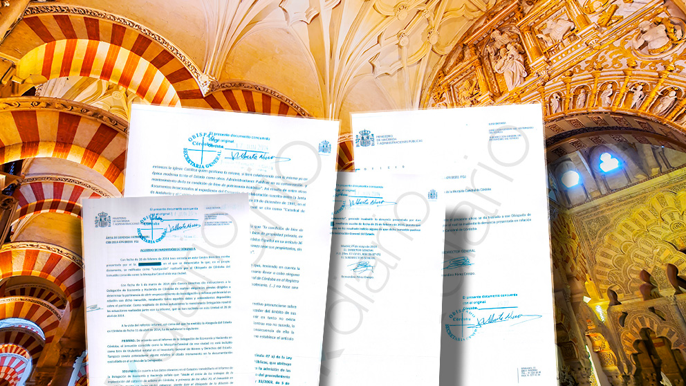 Patrimonio Nacional reconoce la titularidad privada de la Mezquita de Córdoba