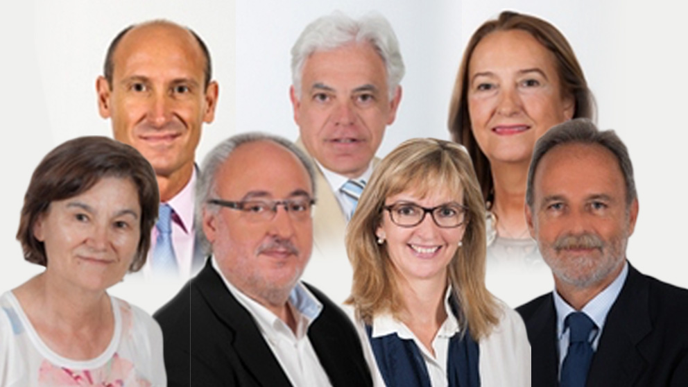 Diputados del PSOE con planes de pensiones en la Comisión del Pacto de Toledo.