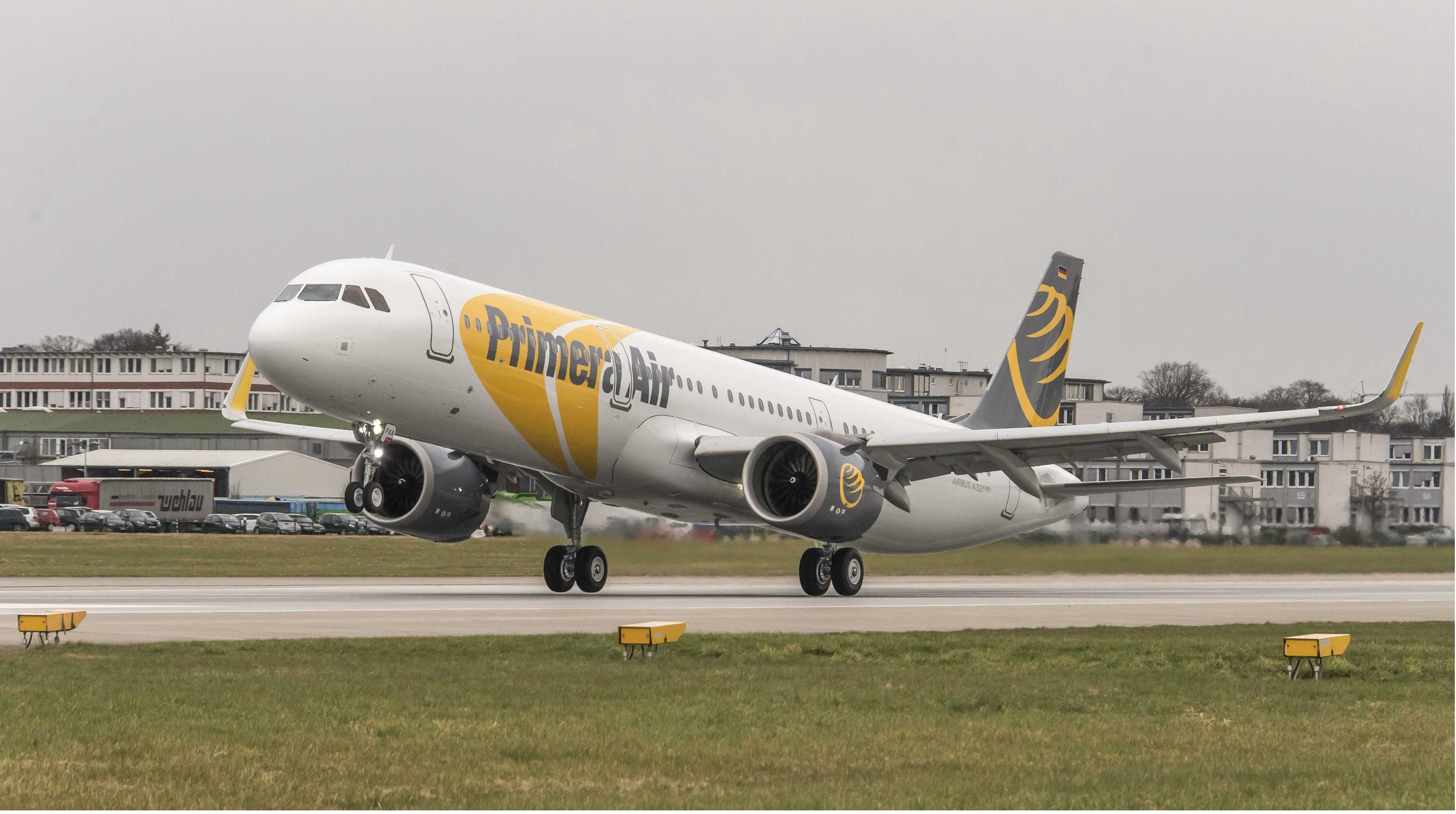 Un avión de Primera Air