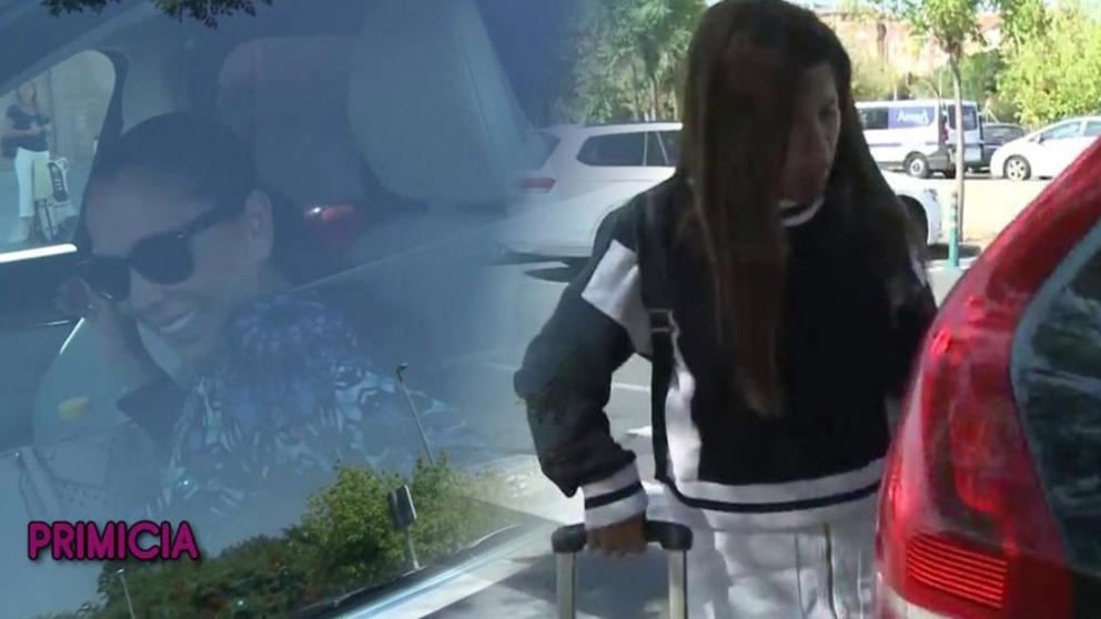 Isabel Pantoja ha recibido a su hija y 'Sálvame' estaba allí. (Foto: Sálvame)