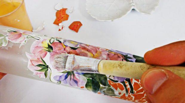 Cómo decorar con botellas y tarros de cristal