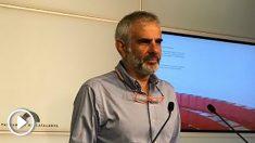 Carlos Carrizosa, portavoz de Ciudadanos en el Parlament. (EP)