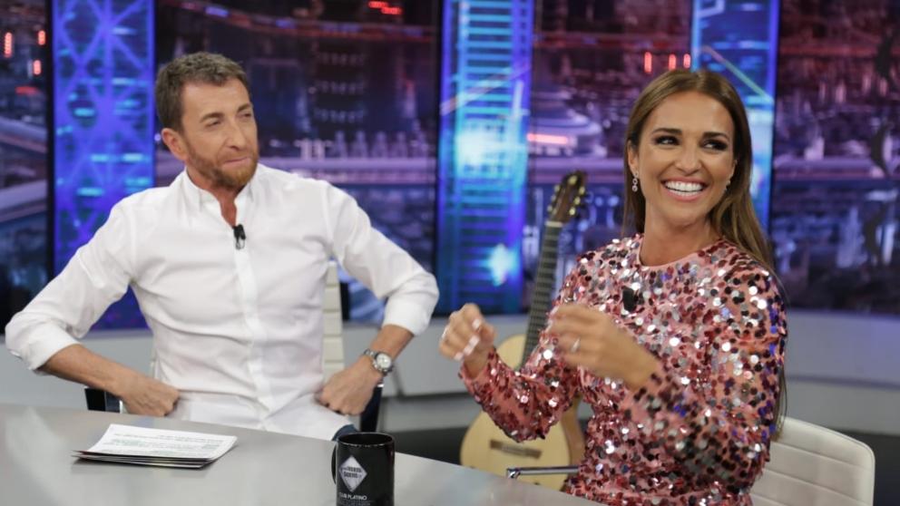 Paula Echevarría invitada platino de 'El Hormiguero'. (Foto: Antena 3)