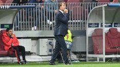 Julen Lopetegui en el encuentro ante el CSKA (AFP)