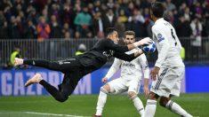 Keylor Navas, en el CSKA Moscú – Real Madrid (AFP)