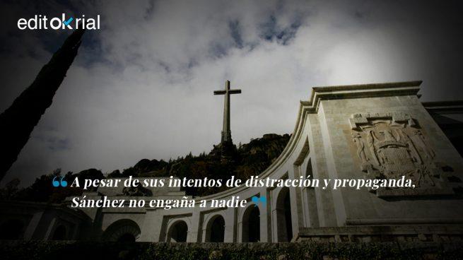 Sánchez usa la momia de Franco para tapar sus vergüenzas