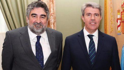 Rodríguez Uribes y Ángel Garrido. (Foto. Comunidad)