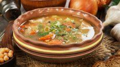 Receta de sopa de ternera fácil de preparar
