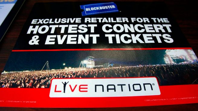 what is live nation presale on ticketmaster