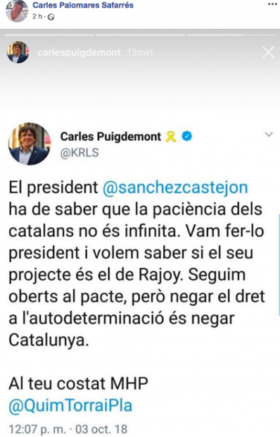 La Policía sigue a un grupo separatista que hace prácticas de tiro y anima a fundar un ejército catalán
