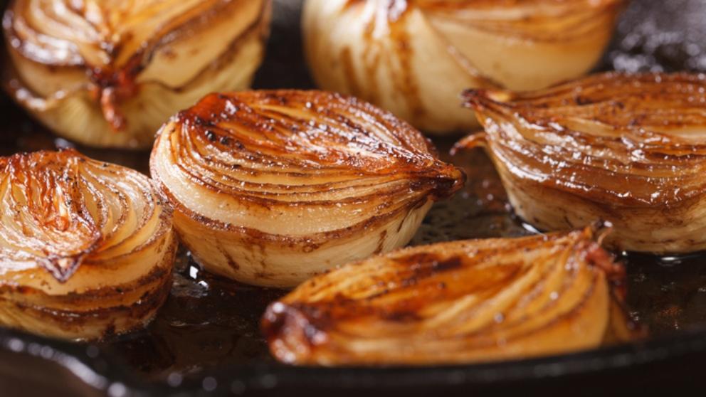 Receta de Cebollas asadas fácil de preparar