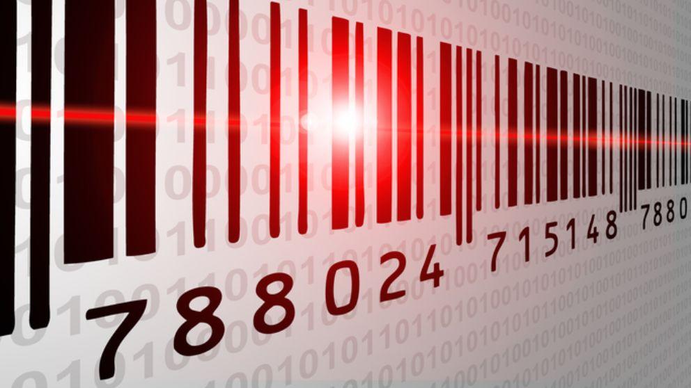 Los pasos para leer códigos de barra