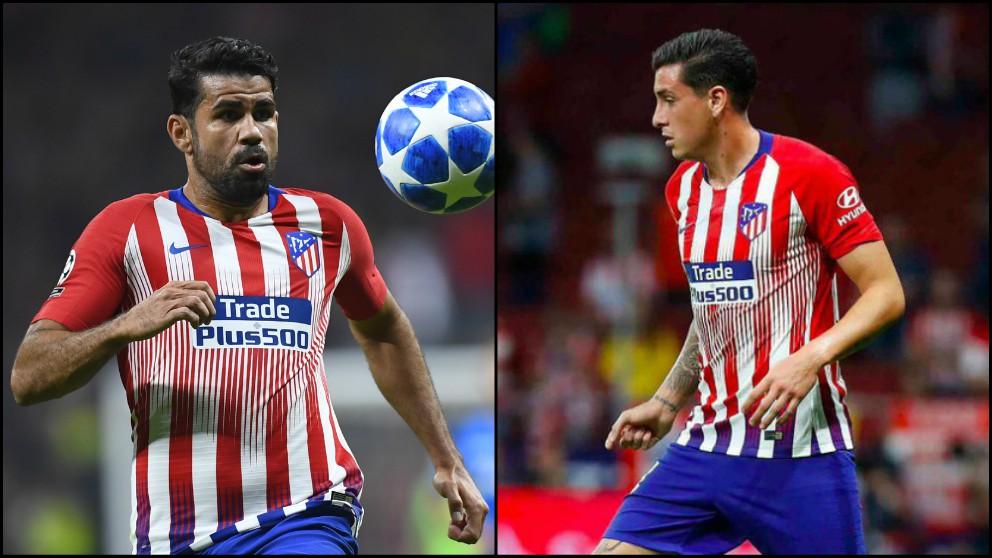Diego Costa y Josema Giménez.