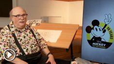 El histórico animador, y director de Walt Disney, Eric Goldberg visita España para impartir una master class sobre el icónico ratón Mickey Mouse. Foto: Agencias