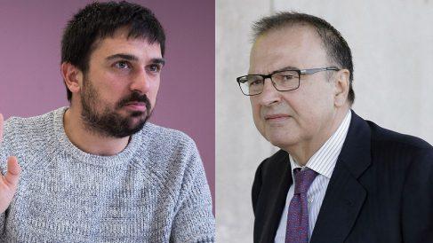 Ramón Espinar hijo y padre.