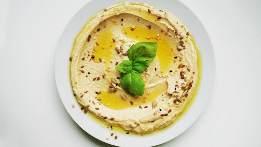 Hummus, plato saludable para el embarazo
