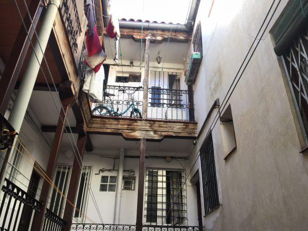 Interior del nº 8 de la calle Esperanza de Madrid (Imagen: Francisco Toledo).