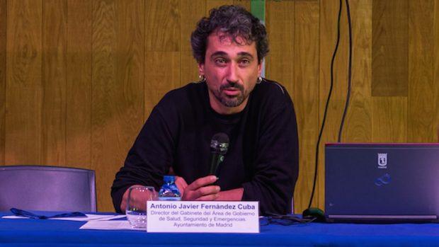 Javier Fernández Cuba, director del Gabinete de Seguridad del Ayuntamiento de Madrid.