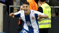 Mario Hermoso celebra un gol. (EFE)
