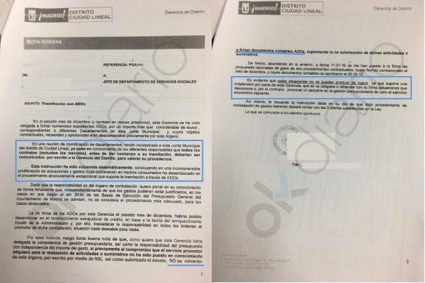 Carmena desata una purga de funcionarios que se niegan a firmar decenas de contratos 'a dedo'