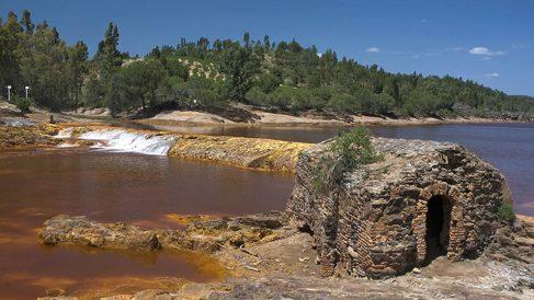 Río Tinto es una de las zonas vigiladas por el CSN.