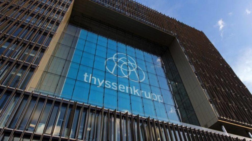 Sede de Thyssenkrupp. Foto EP