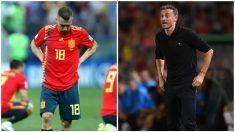 Luis Enrique mantiene el castigo a Jordi Alba. (Getty)