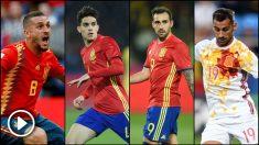 Koke, Bartra, Alcácer y Jonny, novedades en la lista de Luis Enrique.