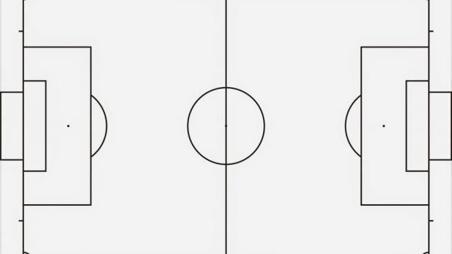Cómo Dibujar Un Campo De Fútbol Paso A Paso Para Que Los Niños Jueguen