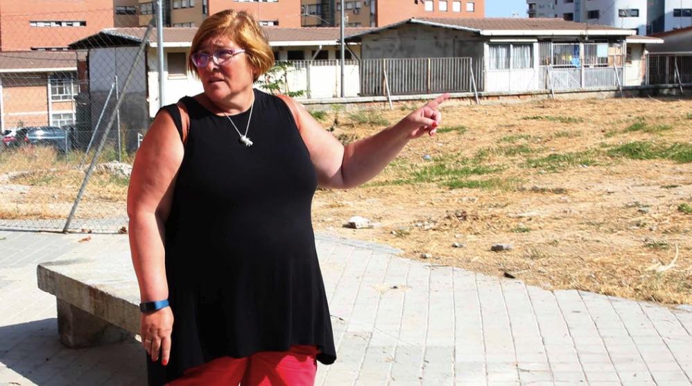 La edil de IU, Yolanda Rodríguez, presidenta de Hortaleza y Ciudad Lineal. (Foto. Madrid)