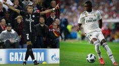 Mbappé y Vinicius se siguen mutuamente en Instagram (Getty).