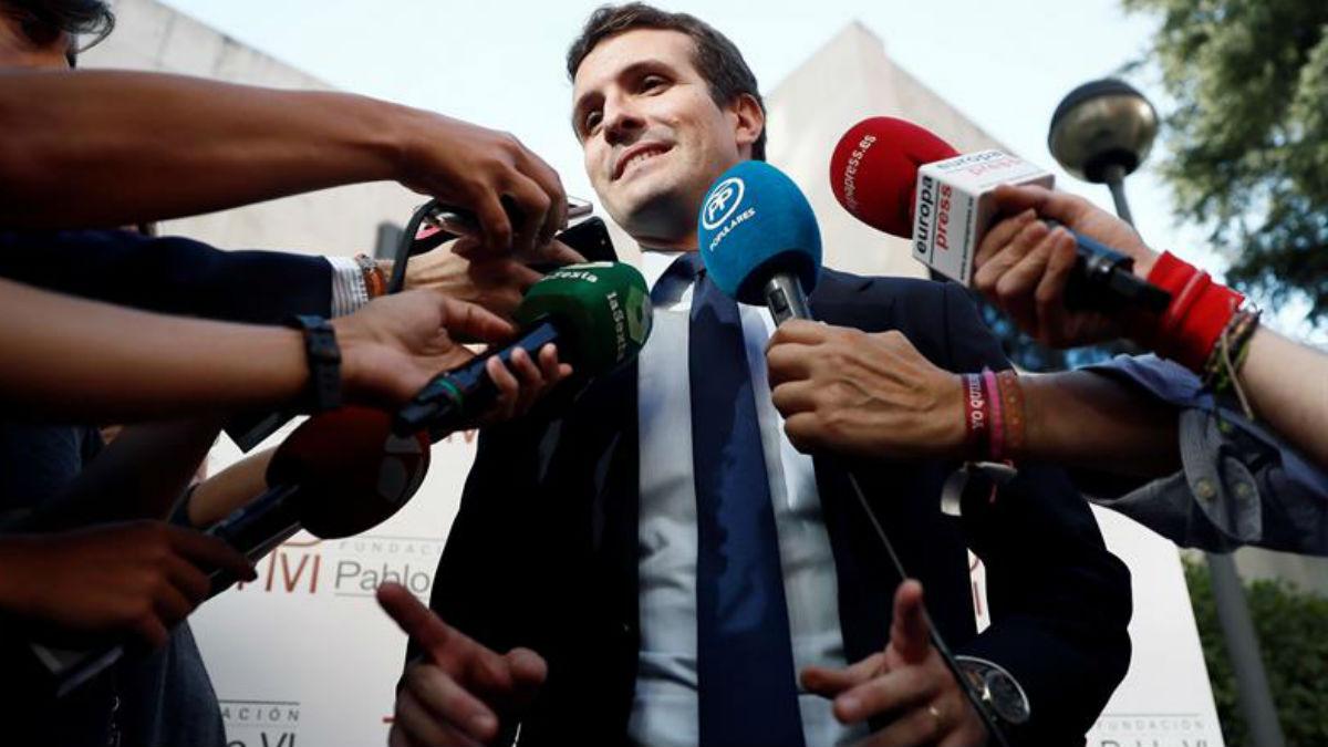 Pablo Casado en una imagen reciente (EFE).