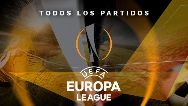 partidos hoy europa league