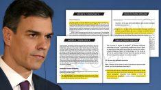 El presidente del Gobierno, Pedro Sánchez, no entrecomilló los textos de otros autores.