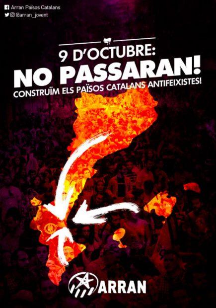 El Ministerio del Interior blinda Valencia con 750 agentes para la manifestación separatista del 9-O