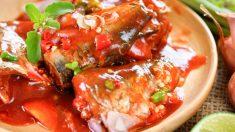 Receta de Caballa con tomate fácil de preparar