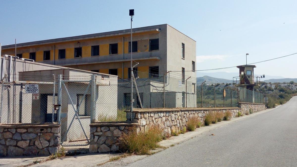 Cuartel de Motril. Foto (Europapress)