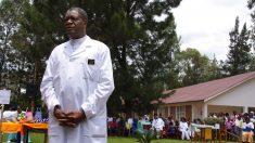 El ginecólogo congoleño Denis Mukwege premiado con el Nobel de la Paz. Foto: AFP