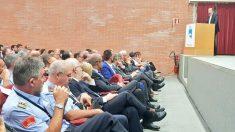 El director de TV3 Vicent Sanchís, en el curso del Instituto de Seguridad Pública de Cataluña