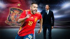 Jordi Alba no volverá a vestir la camiseta roja mientras esté Luis Enrique en la selección.