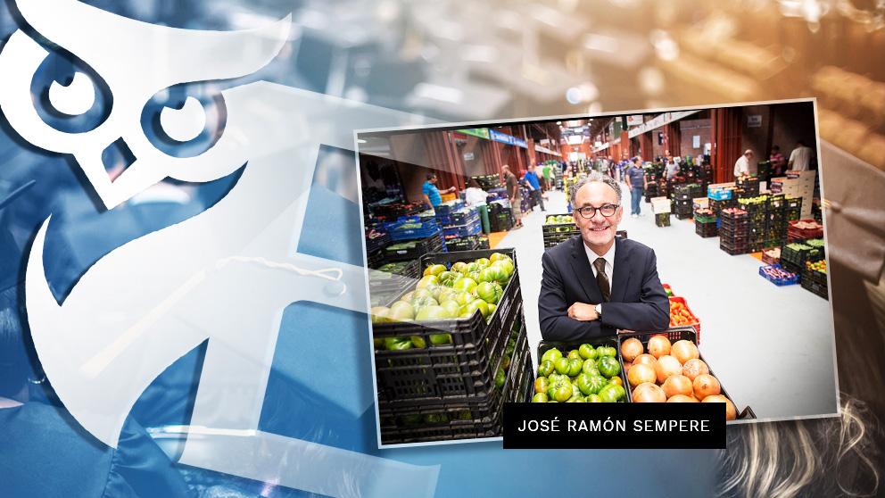 El nuevo presidente de la empresa pública Mercasa, José Ramón Sempere Vera.
