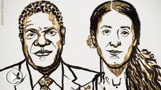 Denis Mukwege y Nadia Murad, reconocidos por su labor humanitaria con el Premio Nobel de la Paz 2018.